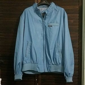 Authentic Vintage Members Only Jacket 1X Blue